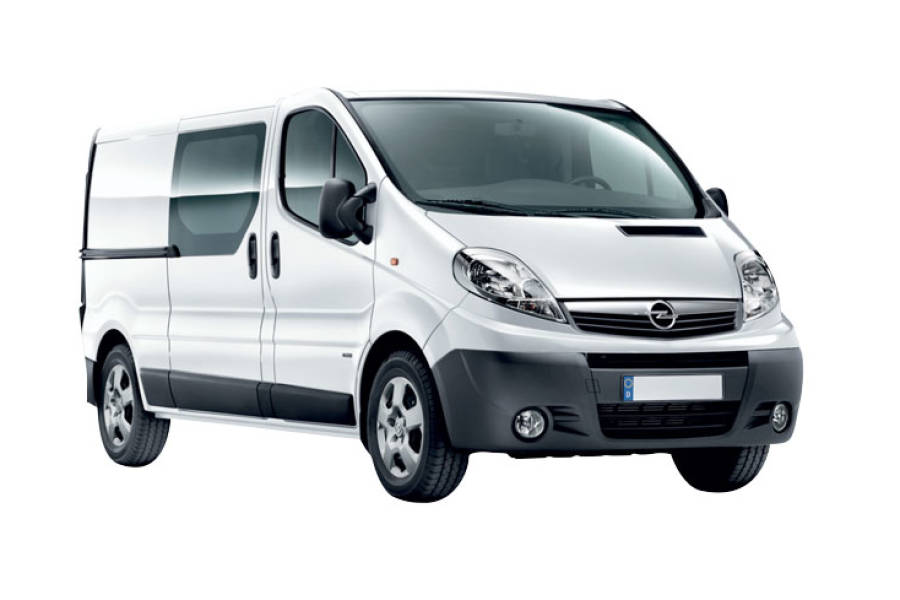 VAUXHALL VIVARO from MVH Rental